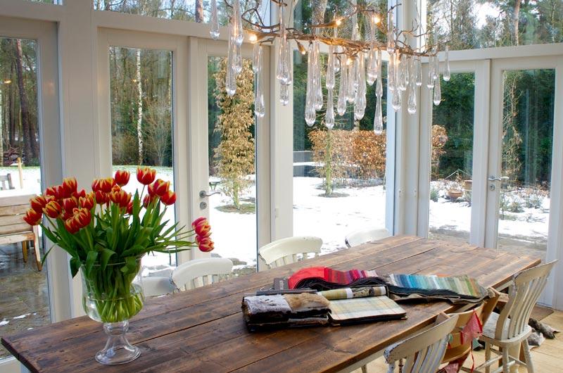 Accent op de natuur in stijlvolle villa